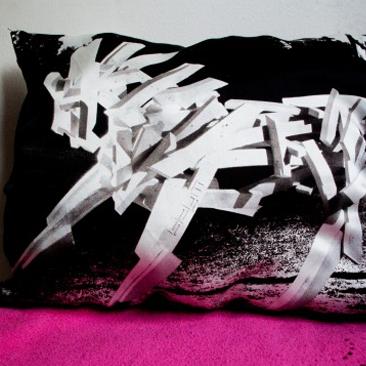 Így lesz a textiltáskából párna