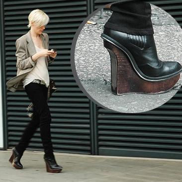 Kati cipője a Bershkában