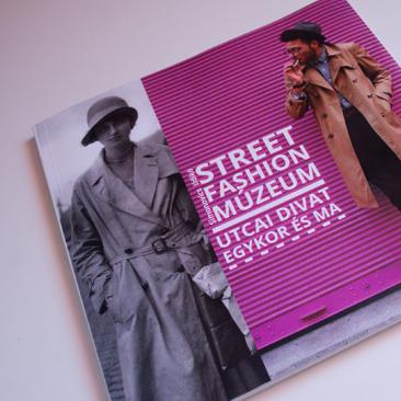 Street Fashion Budapest könyvbe kötve