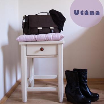 DIY: vintage ülőke és tároló az előszobába