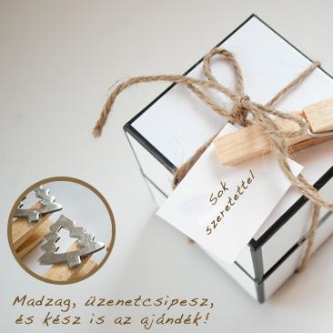 DIY: karácsonyi csomagolás és ültetőkártya