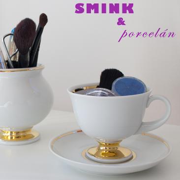 A porcelánkészlet új szerepben