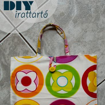 DIY: irattartó