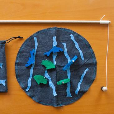 DIY: mágneses horgászkészlet