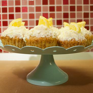Frissítő és stílusos: citromos-gyömbéres muffin