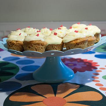 Répás cupcake gyömbérrel és fahéjjal