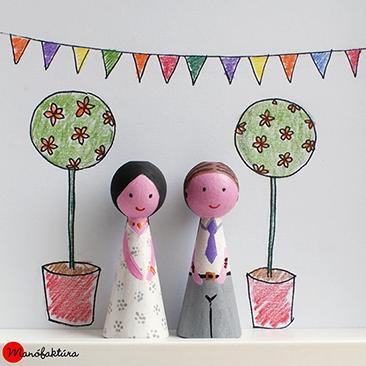 Éljen az ifjú pár! – ajándék lánybúcsúra