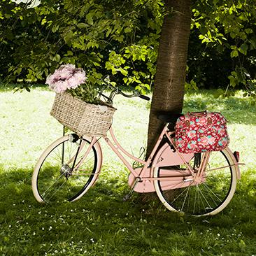 Virágba boruló bringák