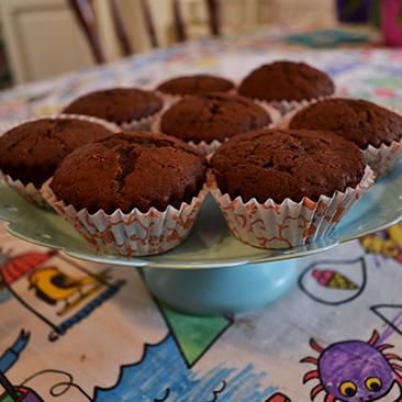 Karamellás muffin
