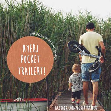 Pocket Trailer játék apukáknak!