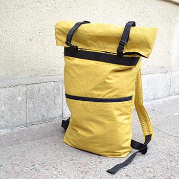 Mustárszínű hátizsák Dalminak