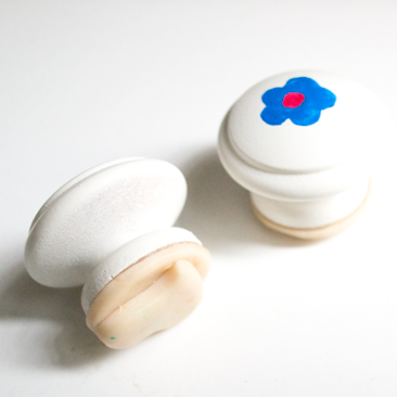 Fiók gombból sütipecsét
