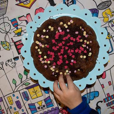 Csokitorta egyszerűen
