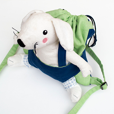 Baba/plüssállat hordozó hátizsákok