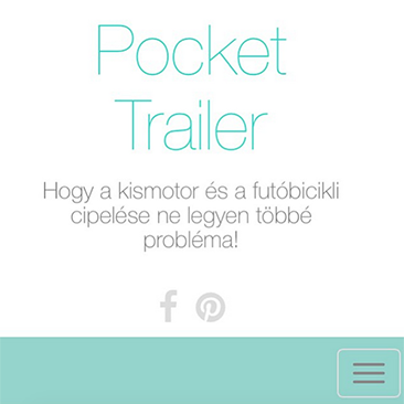 Elindult a Pocket Trailer webshop!