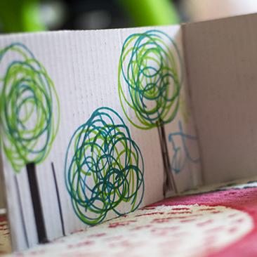 DIY farm papírból