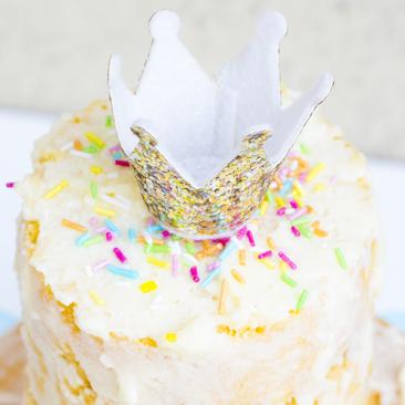 Naked torta: az első próbálkozás