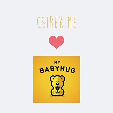 MyBabyHug: a gyerekkel növekvő hurci