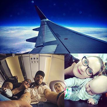 Repülés gyerekkel – 5 tuti tipp