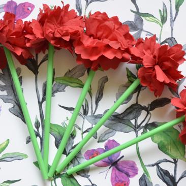 DIY virág ovis évzáróra