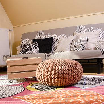 DIY új kanapé 5000 forintból