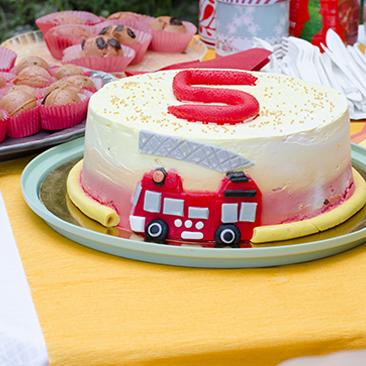 5. születésnap Tűzoltó Sammel