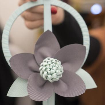 Textilvirág workshop Győrben – beszámoló
