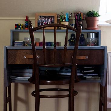 Iskolakezdés 40 éves íróasztallal