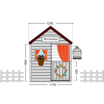 A fa kisház projekt